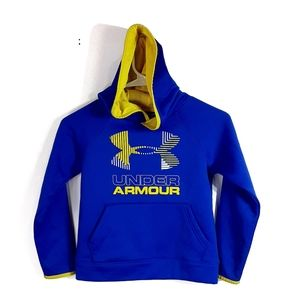 Under Armour graphic long sleeve pullover hoodie